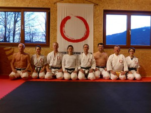 15022014 Doshinkan Training im Stockimoto Dojo Kramsach