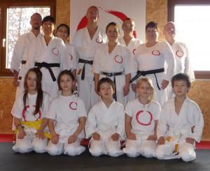 20141224-Karatedo Doshinkan Dojo Stockimoto Kramsach Weihnachtstraining 9.00 Uhr